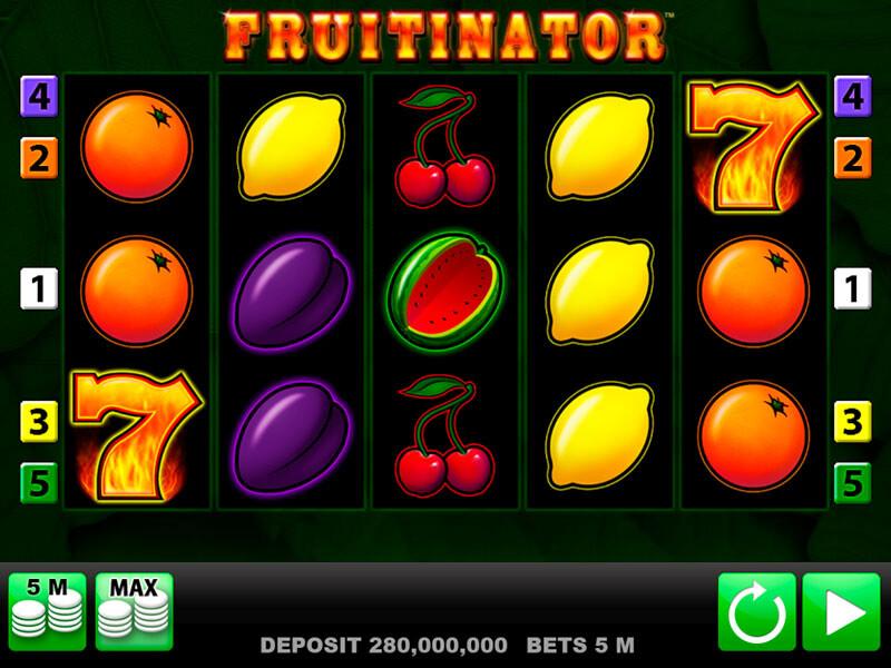 Fruitinator Slot von Merkur: Ein Klassischer Spielautomat